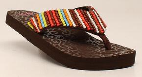 Blazin Roxx Marlee Women's Flip Flops, Multi, hi-res