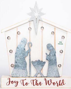 BB Ranch LED Nativity Decor, White, hi-res