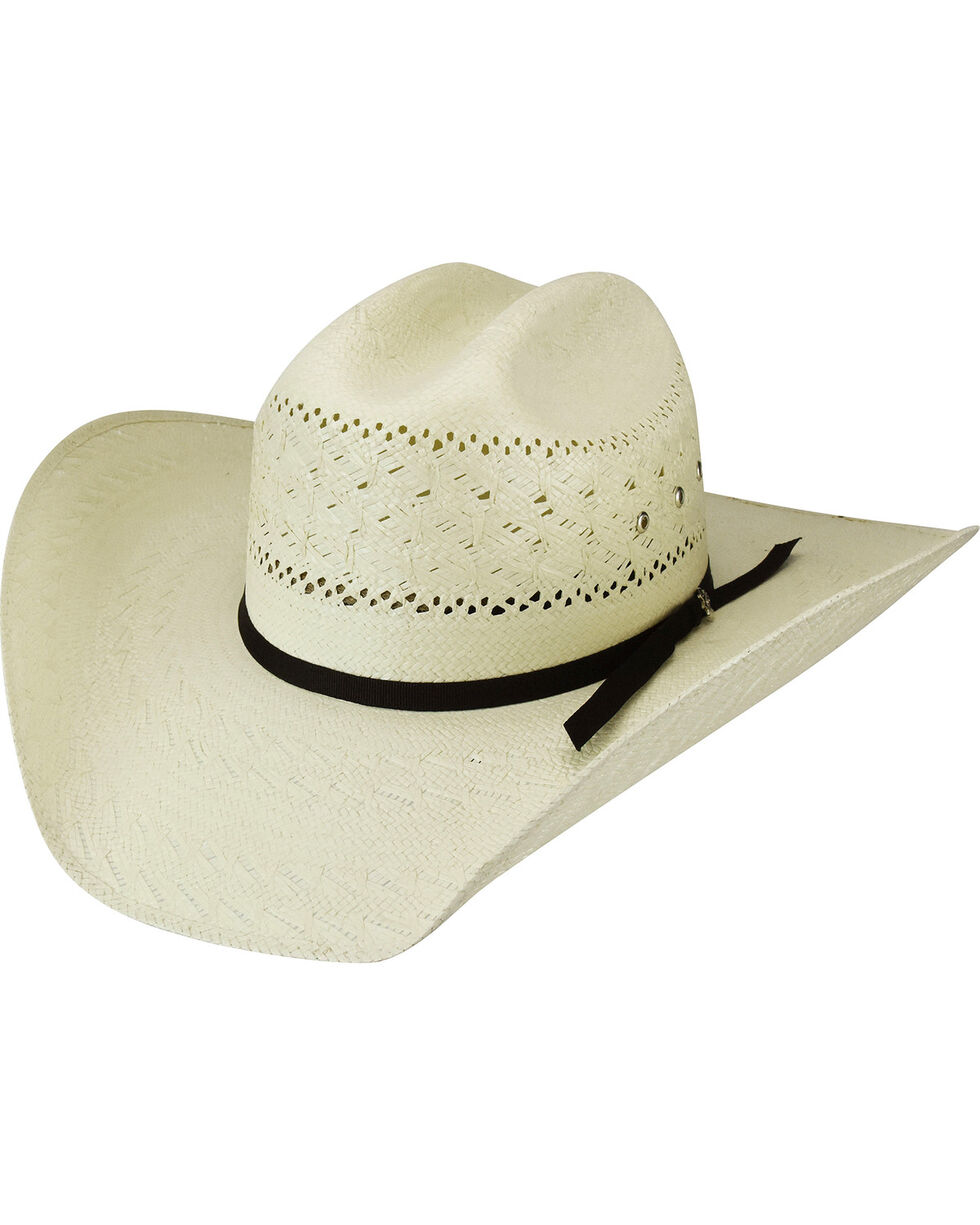 Bailey Men's Roswell 15X Straw Western Hat, , hi-res