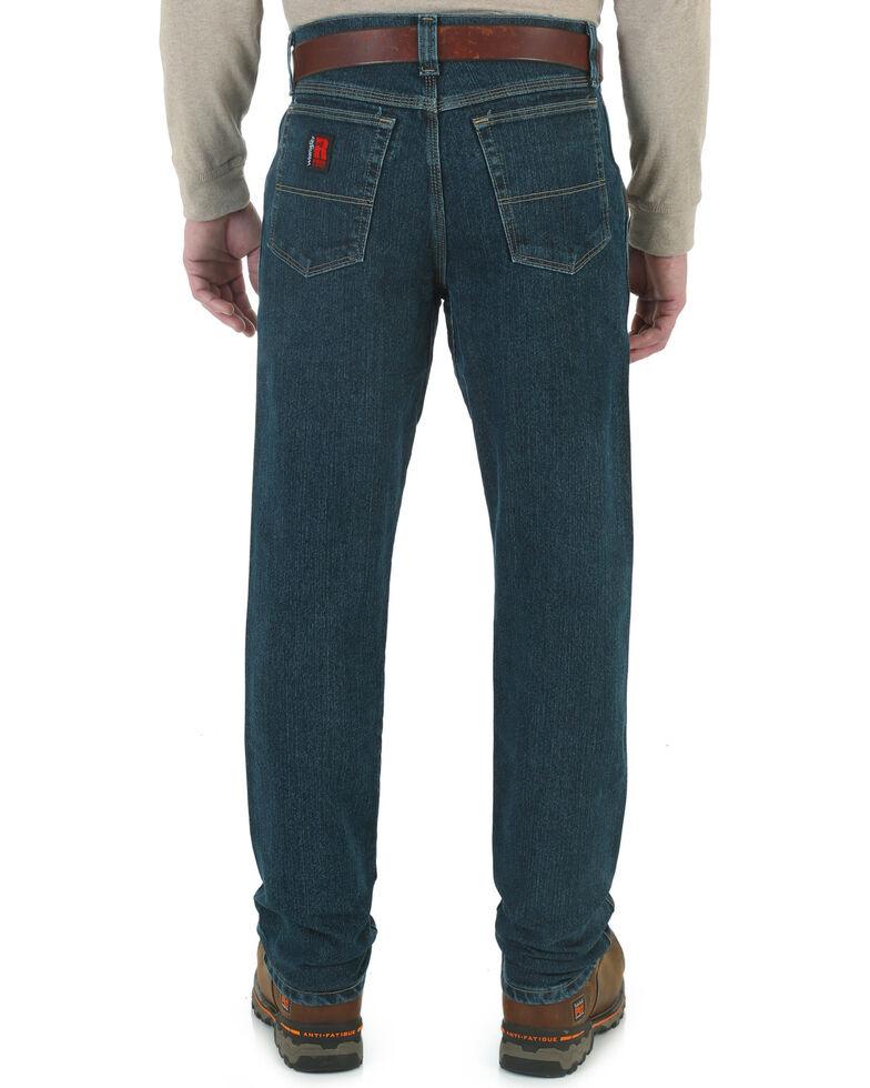 Wrangler Riggs Men's Advanced Comfort Relaxed Bootcut Jeans, Dark Tint, hi-res