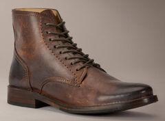 Frye Oliver Lace Up Boots, Dark Brown, hi-res