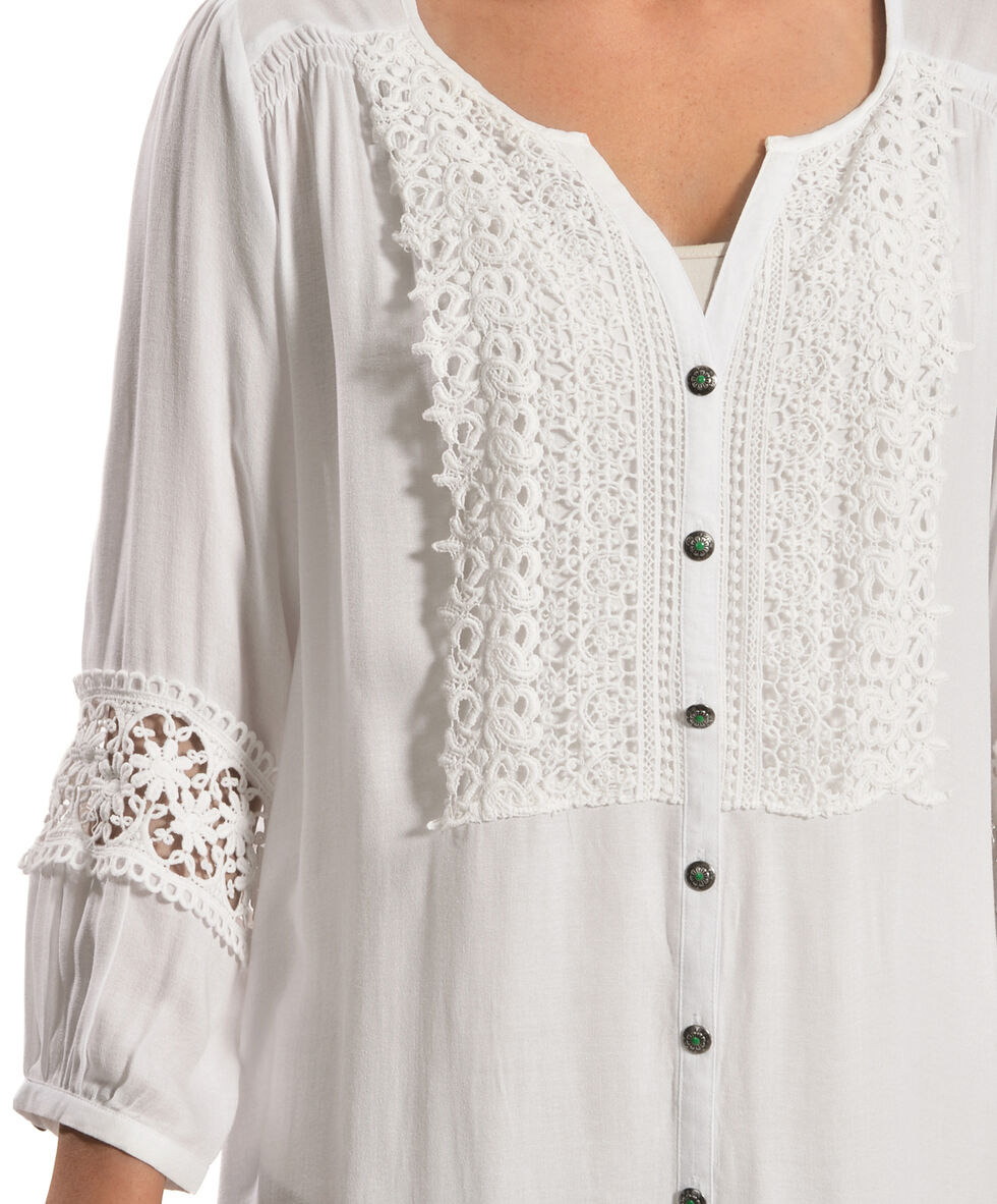 Tasha Polizzi Women's Barn Swallow Blouse, White, hi-res
