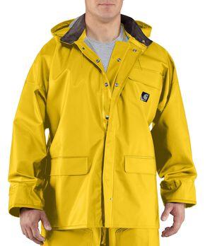 Carhartt Surrey Rain Coat - Big & Tall, Yellow, hi-res