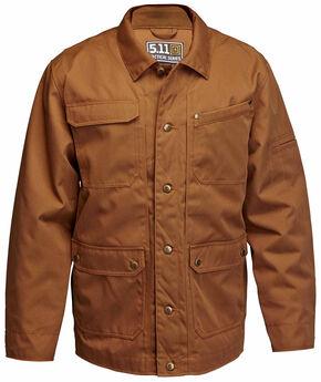 5.11 Tactical Men's Ranch Coat, Brown, hi-res