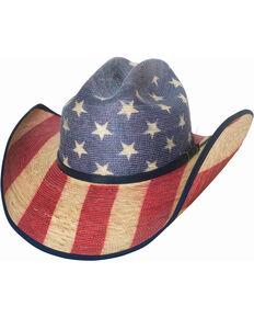 Bullhide Star Spangled 20X American Flag Cowboy Hat  2c88842a41f