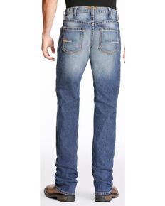 Ariat Men's Rebar M4 Edge Boot Cut Jeans - Big, Indigo, hi-res