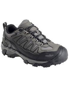 Nautilus Men's Waterproof Athletic Hiker Shoes - Steel Toe, Grey, hi-res