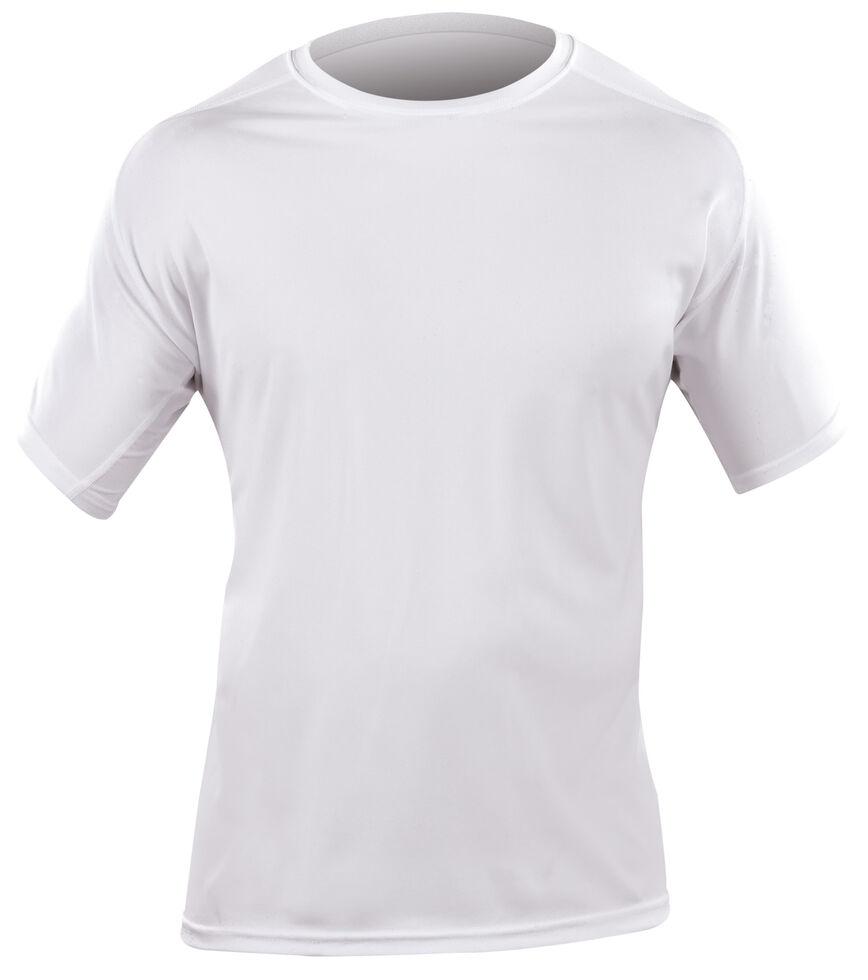 5.11 Tactical Men's Loose Short Sleeve Crew Shirt, White, hi-res