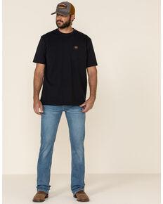 Levi's Men's 527 Begonia Subtle Light Stretch Slim Bootcut Jeans, Blue, hi-res