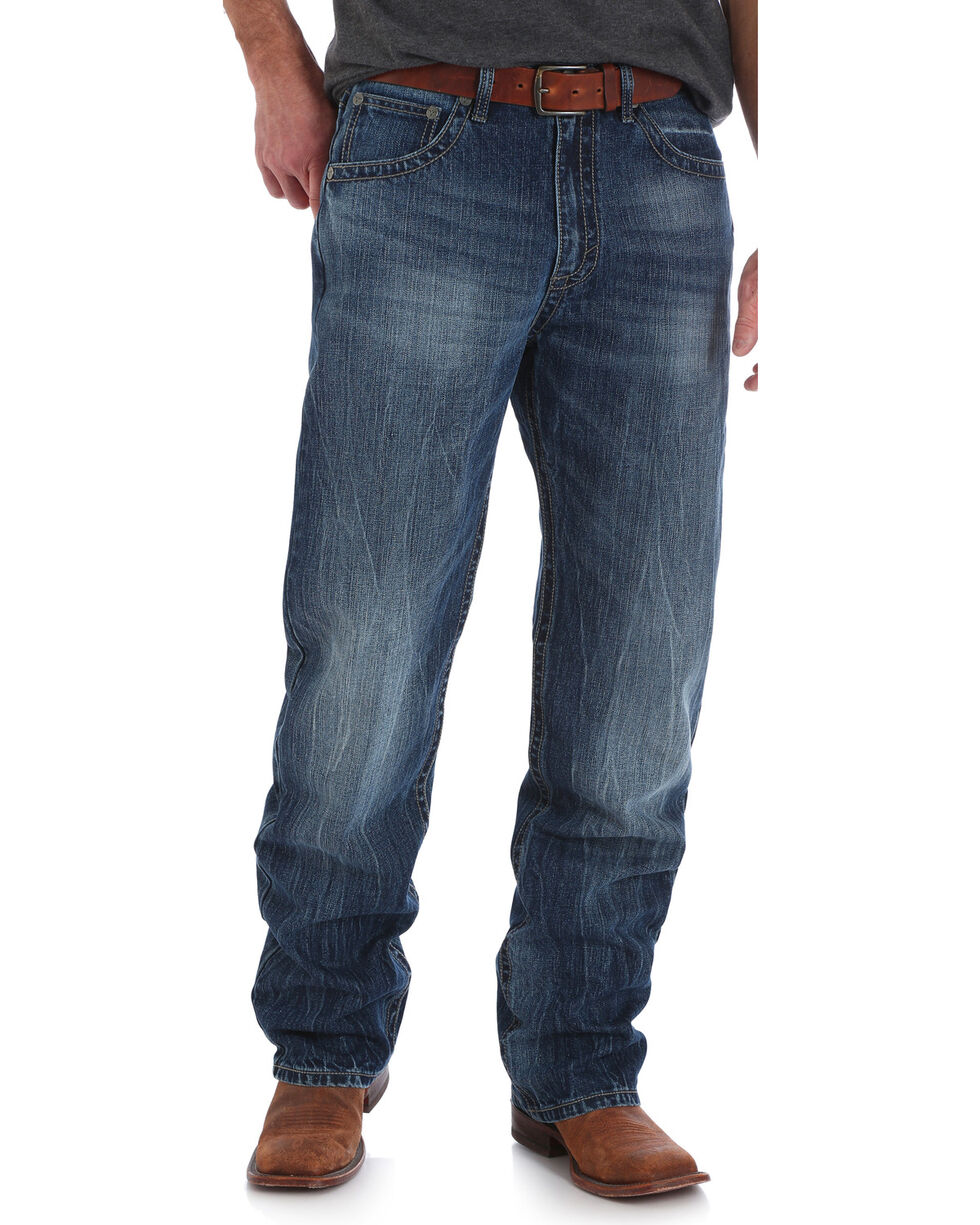 Wrangler 20X Men's No. 33 Extreme Relaxed Fit Jeans - Straight Leg, Indigo, hi-res
