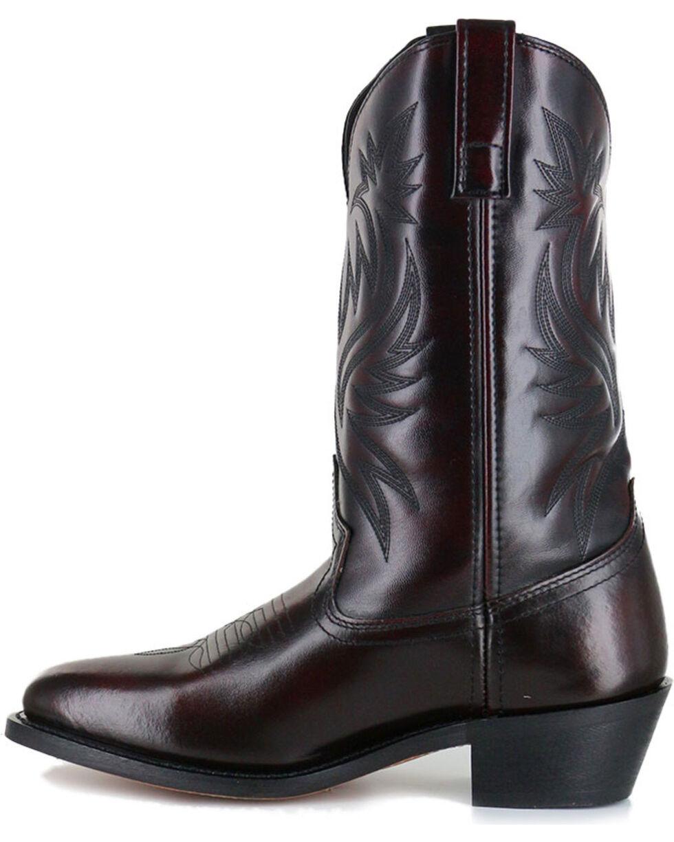 Cody James Men's Black Cherry Western Boots - Medium Toe , Black Cherry, hi-res