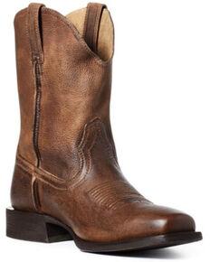 Ariat Men's Reinsman Western Boots - Square Toe, Brown, hi-res