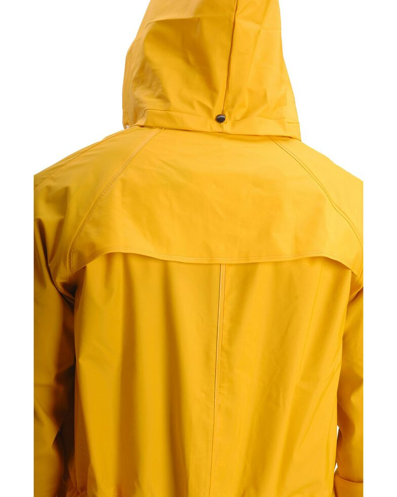 Double S Adult Saddle Slicker, Yellow, hi-res