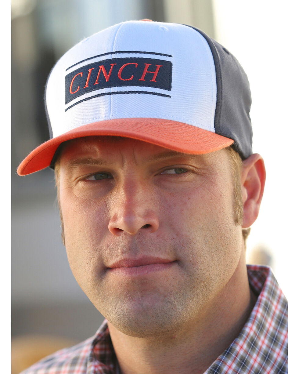 Cinch Men's Mid-Profile FlexFit Baseball Cap , Multi, hi-res