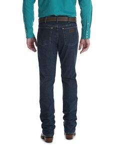 Wrangler Men's Premium Performance Cowboy Cut Vintage Stone Slim Jeans , Indigo, hi-res
