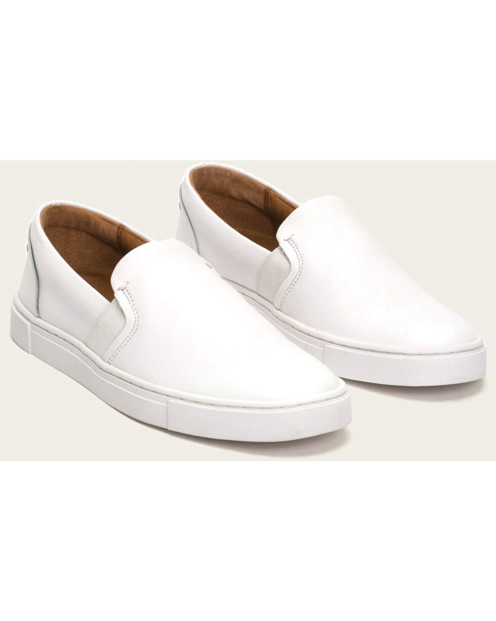 Frye Women's Ivy Slip On Shoes , White, hi-res