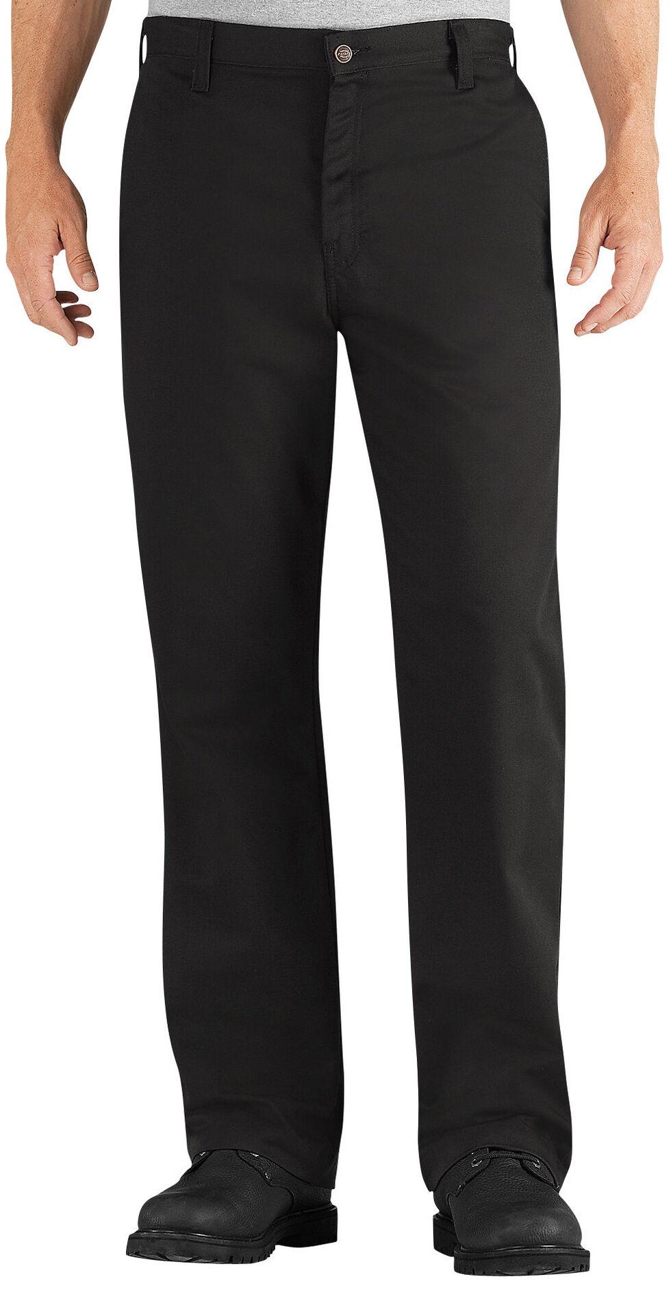 Dickies Flame Resistant Twill Pants - Tall, Black, hi-res