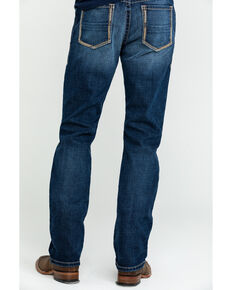 Ariat Men's M1 Travis Vintage Stackable Slim Straight Jeans , Blue, hi-res