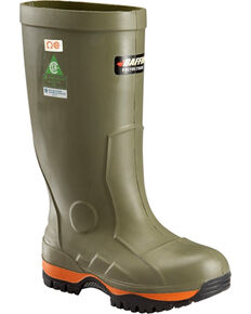 Baffin Men's Forest Green Ice Bear Winter Safety Boots - Round Toe , Forest Green, hi-res