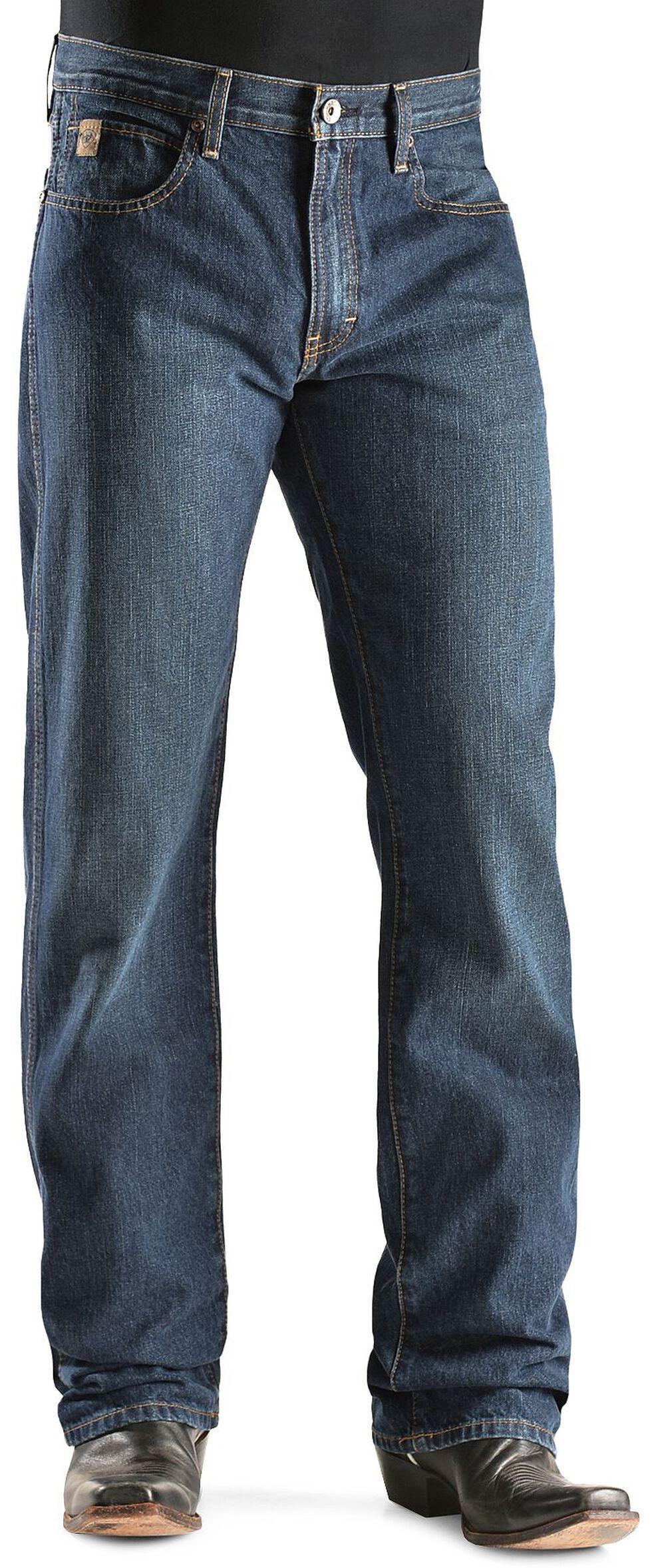 Ariat Denim Jeans - Heritage Dark Stonewash Classic Fit, Dark Stone, hi-res