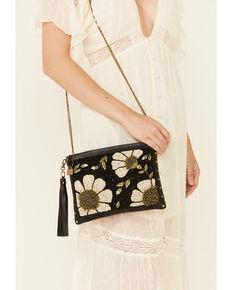 Mary Frances Women's Sunshine & Daisies Handbag, Brown, hi-res