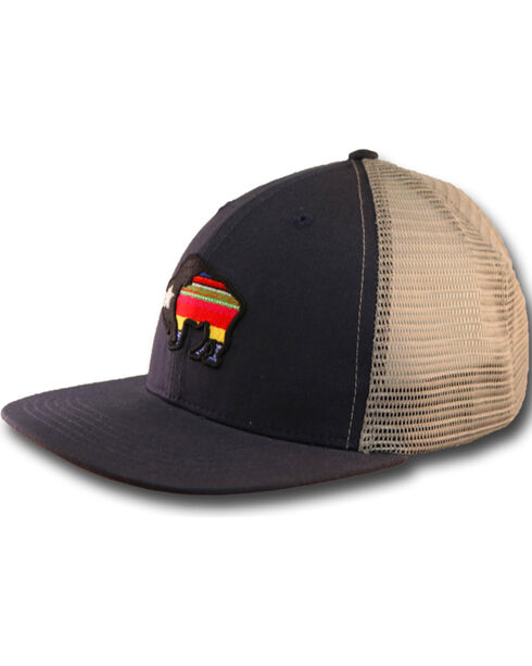 Hooey Men's First Six Panel Trucker Cap , , hi-res