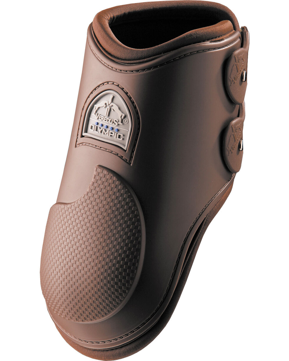 Veredus Olympus Brown Rear Ankle Boots, Brown, hi-res
