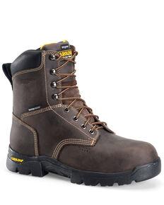 Carolina Men's Circuit Waterproof Work Boots - Composite Toe, Dark Brown, hi-res