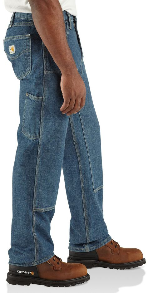 Carhartt Flame Resistant Double Front Relaxed Fit Utility Jeans, Midstone, hi-res