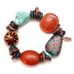 Treska Women's Santa Fe Beaded Bracelet , Multi, hi-res