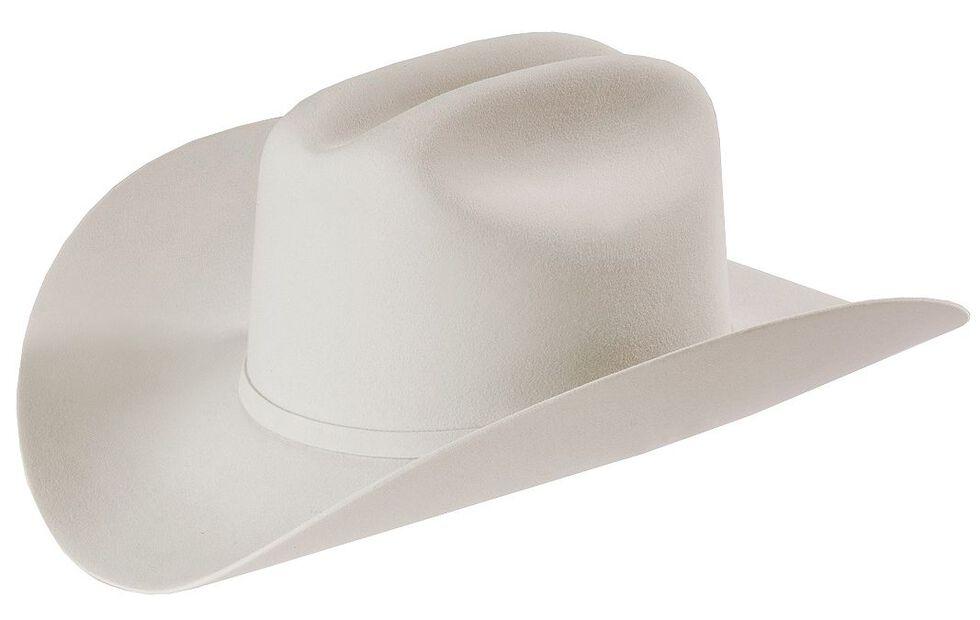 Larry Mahan Platinum Independencia 100X Fur Felt Cowboy Hat  02187b37910