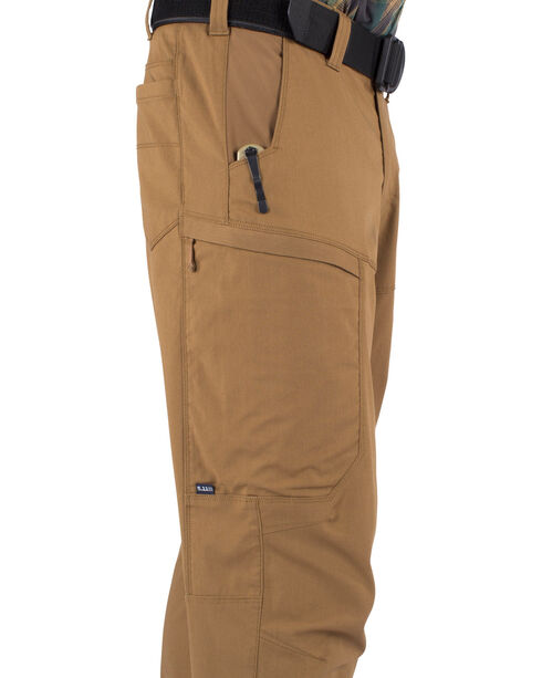 5.11 Tactical Men's Apex Pant, Brown, hi-res