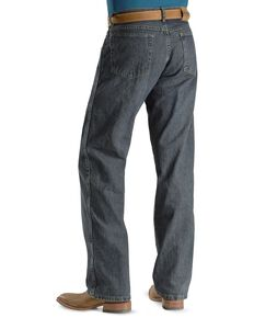 "Wrangler Jeans - Rugged Wear Relaxed Fit - Big. 44"" to 52"" Waist, Mediterran, hi-res"