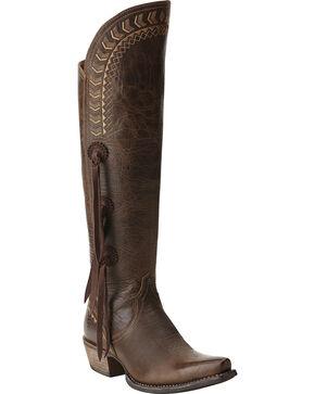 Ariat Women's Tallulah Prairie Brown Tall Boots, Prairie, hi-res