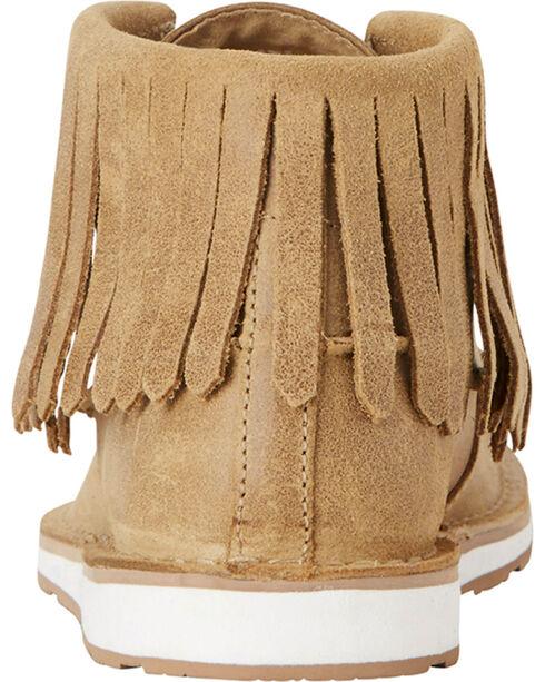 Ariat Women's Fringe Embellished Cruiser Chukkas - Moc Toe, Tan, hi-res