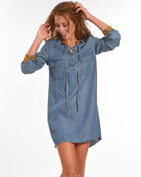 Tasha Polizzi Women's Morrison Denim Dress, Indigo, hi-res