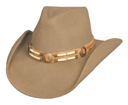 Bullhide Shawnee Premium Wool Cowboy Hat, Camel, hi-res