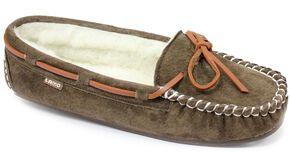 Lamo Footwear Women's Britain Moccasins, Chocolate, hi-res