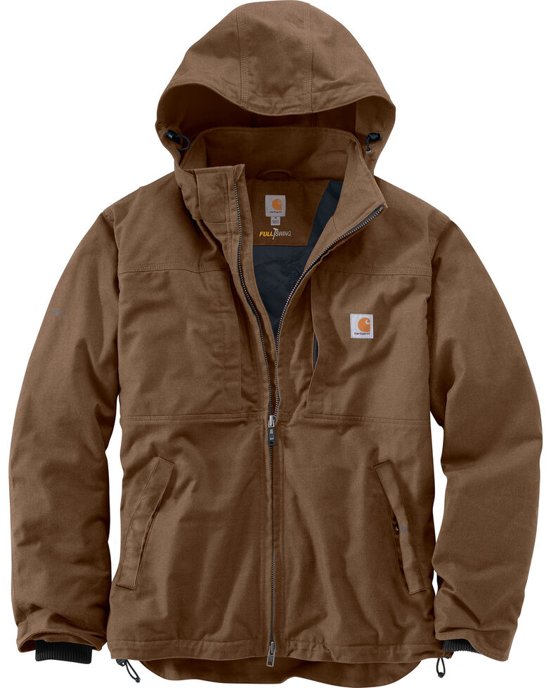 Carhartt Men's Full Swing Cryder Jacket, Canyon, hi-res