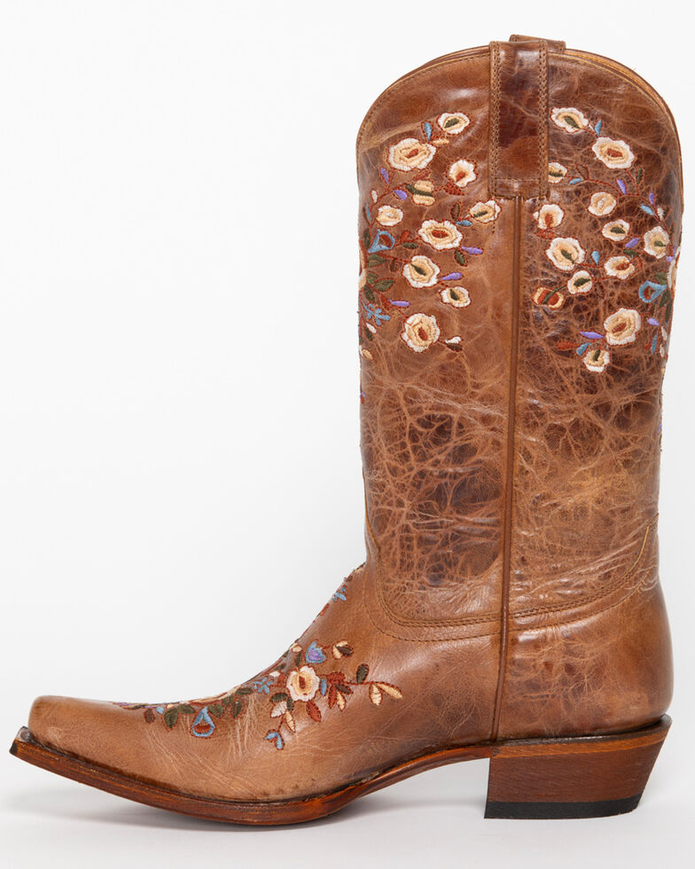 f21f4209616 Shyanne Women's Floral Embroidered Western Boots - Snip Toe