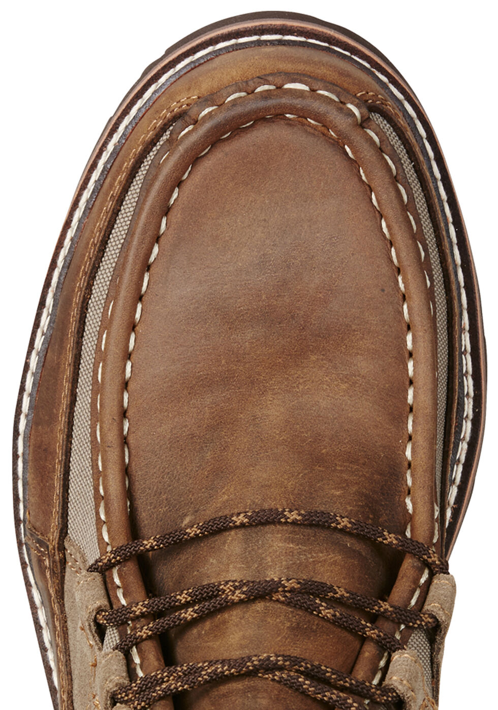 Ariat Men's Exhibitor Casual Boots - Moc Toe, Distressed, hi-res