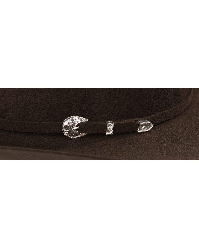 Stetson 4X Corral Wool Felt Cowboy Hat, Chocolate, hi-res