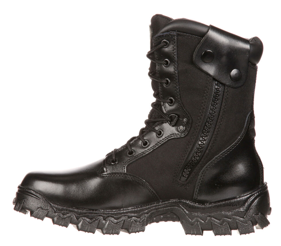 4ab9533e466 Rocky Men's Alpha Force Waterproof Insulated Duty Boots
