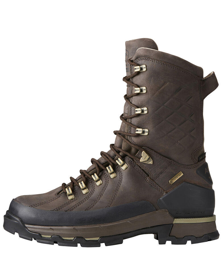 Ariat Men's Catalyst Defiant GTX Work Boots - Soft Toe, Brown, hi-res