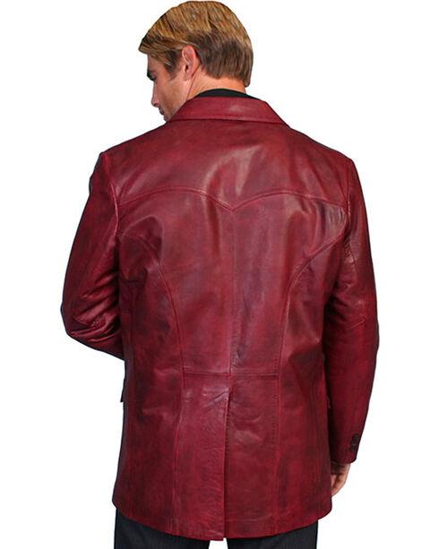 Scully Lamb Leather Blazer - Tall, Black Cherry, hi-res