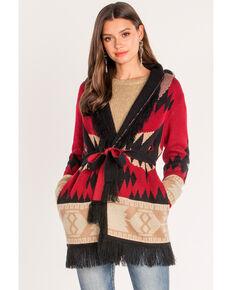 71cb754f06 Miss Me Womens Aztec Tie Front Cardigan
