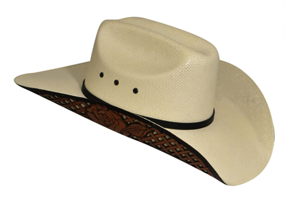 Renegade by Bailey Matlyn Straw Cowboy Hat, Natural, hi-res