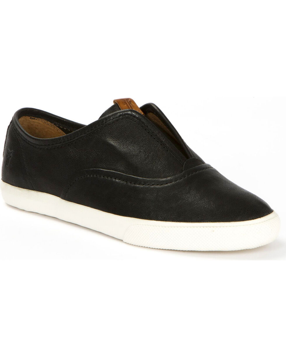 Frye Women's Maya CVO Slip On Shoes , Black, hi-res