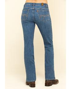 Wrangler Women's Aura Gayle Bootcut Jeans, Blue, hi-res