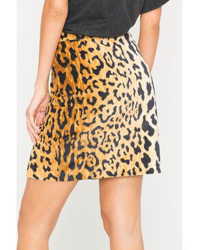 Tasha Polizzi Women's Hot Spot Mini Skirt, Gold, hi-res